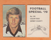 Derby County Colin Todd England